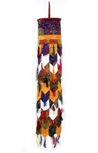 Tibetischer Deckenbehang (Chukar),  110 cm