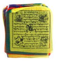 Gebetsfahnen aus Nepal, klein, Frieden