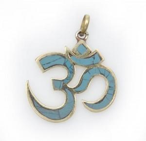 Om Anhänger, sanskrit