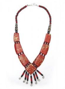 Yak-Horn Kette, Nepal Design 4
