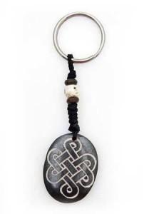 Schlüsselanhänger, Yak-Horn, Endloser Knoten 3