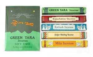 """Geschenkpackung """"Green Tara"""" Räucherstäbchen"""