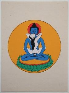 Grußkarte, Samantabhadra