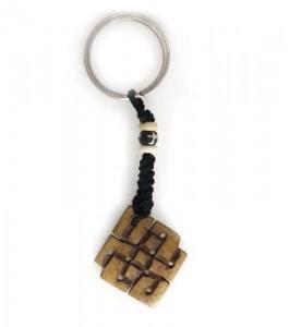 Schlüsselanhänger, Yak-Horn, Endloser Knoten 8