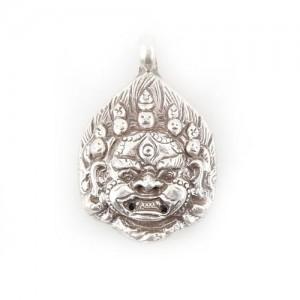 Mahakala Anhänger aus Nepal, Sterlingsilber (925)