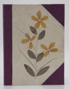 Tagebuch, groß, Blüten 1