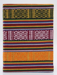 Tagebuch, traditioneller Stoffeinband 03