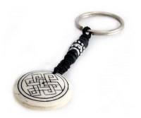 Schlüsselanhänger, Yak-Horn, Endloser Knoten 5