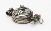 Vishvavajra Amulett aus Nepal