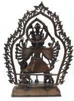 Durga Statue aus Nepal