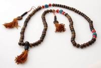 Gebetskette aus Horn, Steine, Zählwerke 04, Nepal