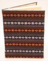 Tagebuch, traditioneller Stoffeinband 1