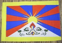 Tibet-Flagge, Baumwolle, 95 cm X 65 cm