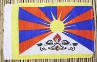 Tibet-Flagge, Polyester, 40 cm X 24,5 cm