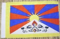 Tibet-Flagge, Polyester, 99 cm X 64 cm