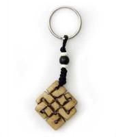 Schlüsselanhänger, Yak-Horn, Endloser Knoten 10
