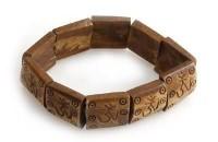 """Yak Horn Armband """"Om-Zeichen"""" aus Nepal"""